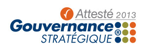 Logo Gouvernance stratégique attestant le conseil d'adminstration de Mon Réseau Plus
