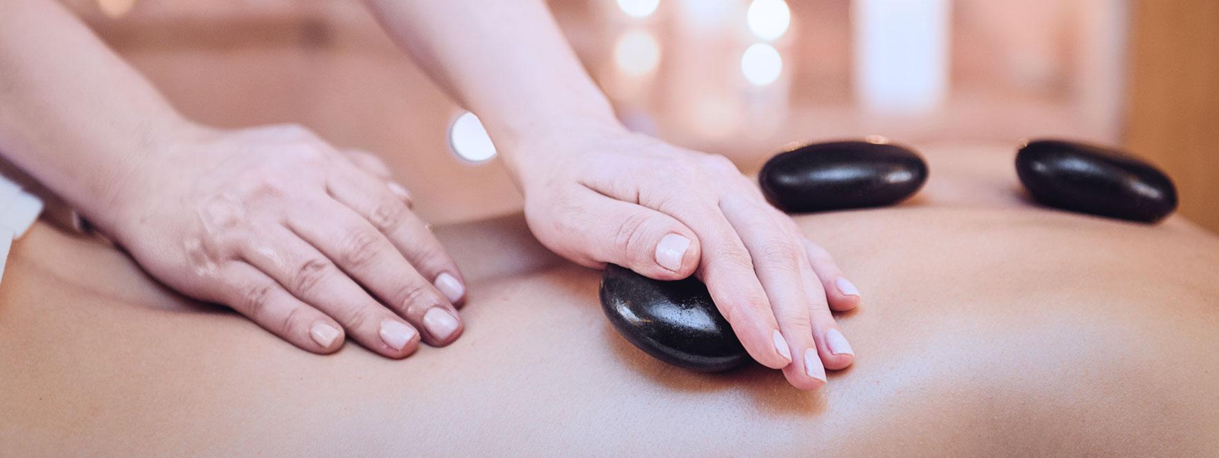 Massage aux pierres chaudes Bioterra - Blogue du Réseau