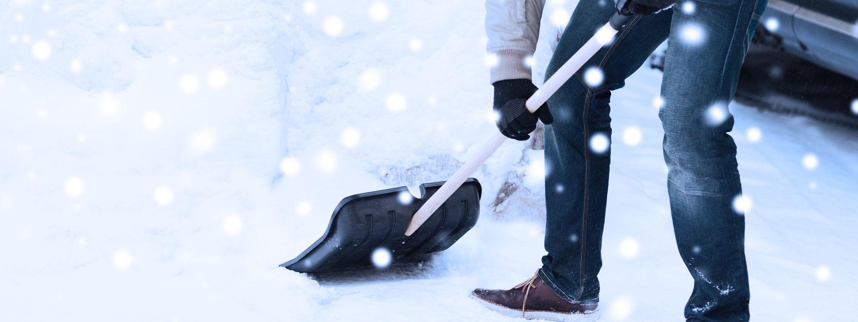 Pelleter en hiver: attention aux maux de dos - Blogue du Réseau