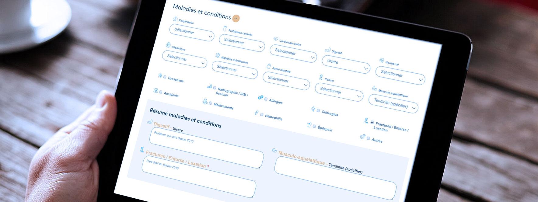 Conditions de santé à considérer - Blogue du Réseau