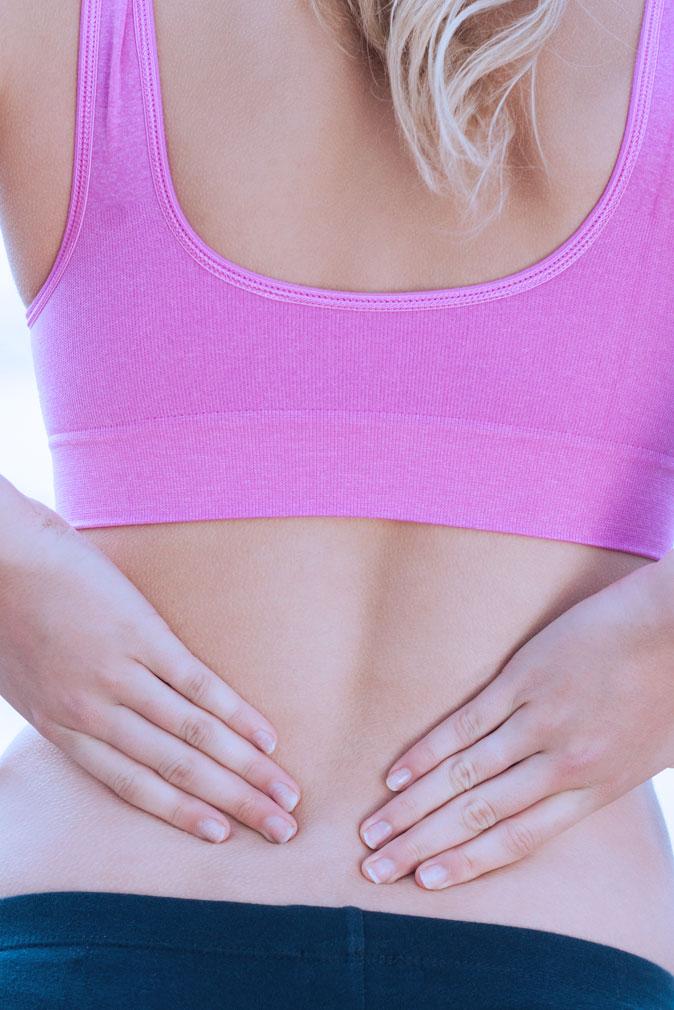 Qu'est-ce qu'une lombalgie? Douleur au dos