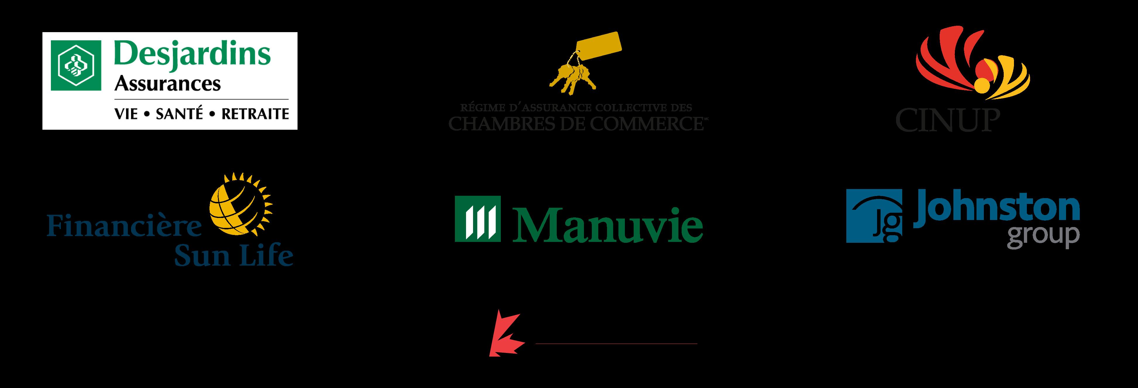 Assureurs participants eRéclamations pour les membres du Réseau