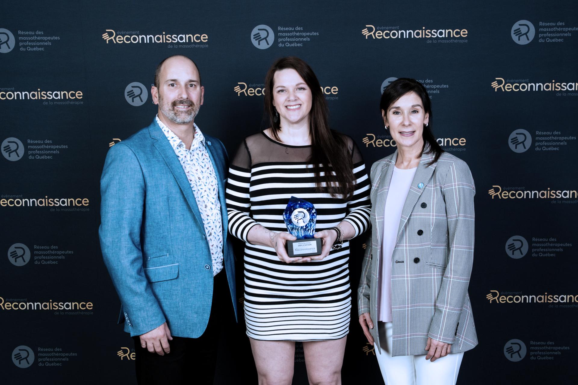 Karine Berchman Évènement reconnaissance de la massothérapie 2019