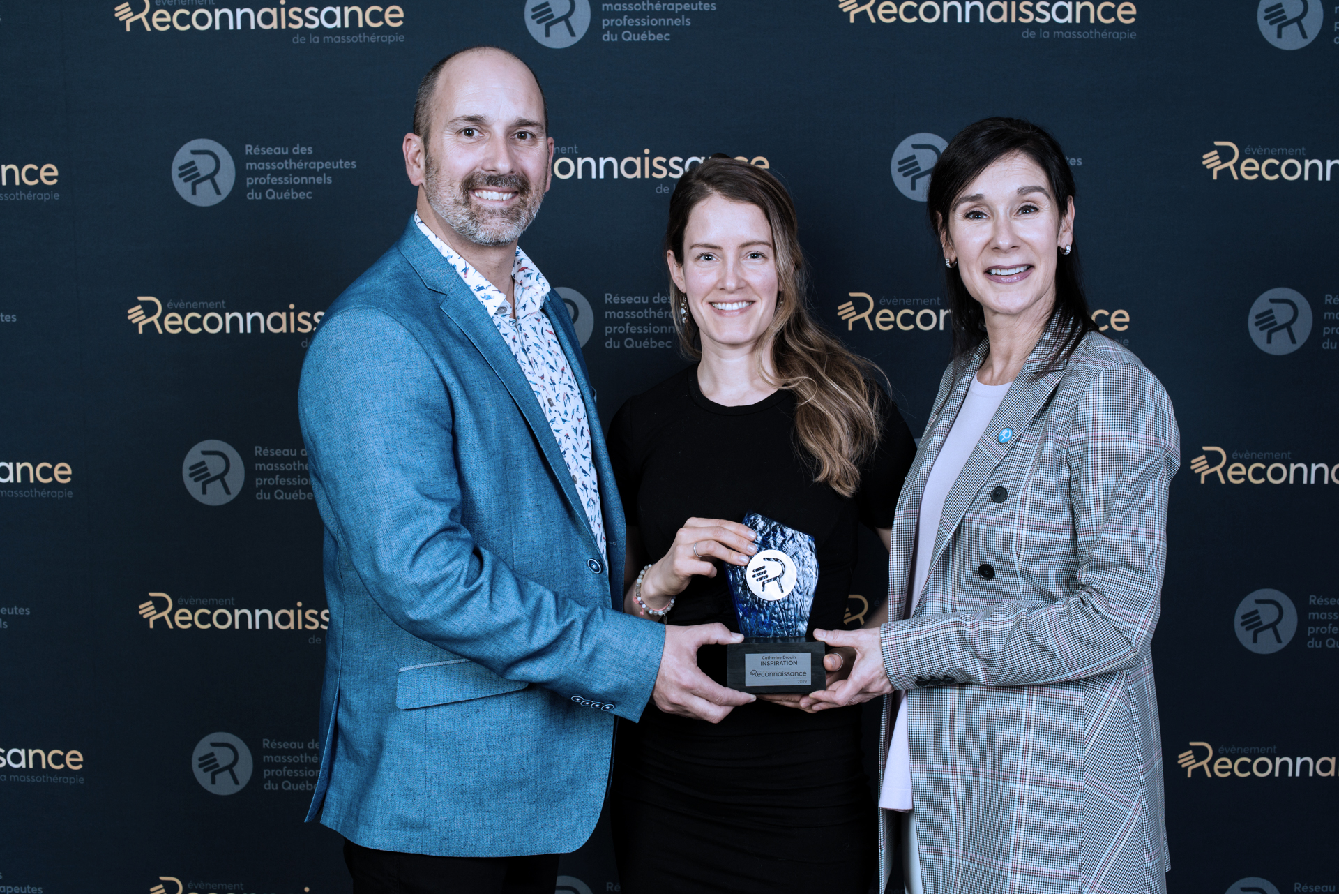 Catherine Drouin Évènement reconnaissance de la massothérapie 2019