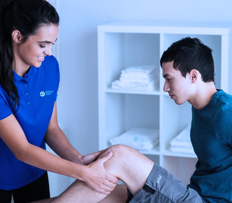 Douleur au genou - Réseau des massothérapeutes
