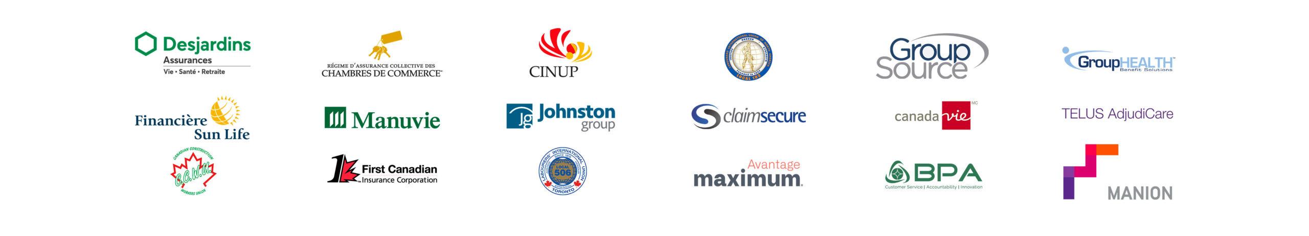 Liste assureurs compatibles eRéclamation