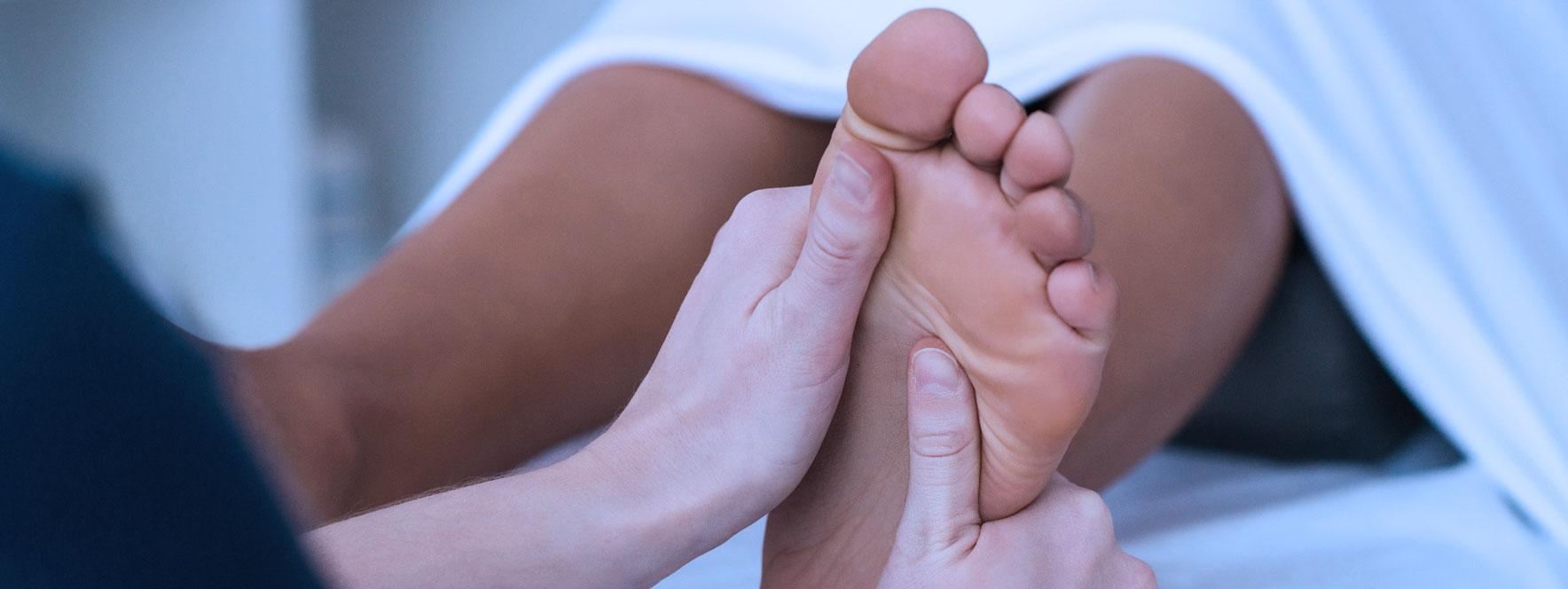 Massage des pieds - Blogue du Réseau