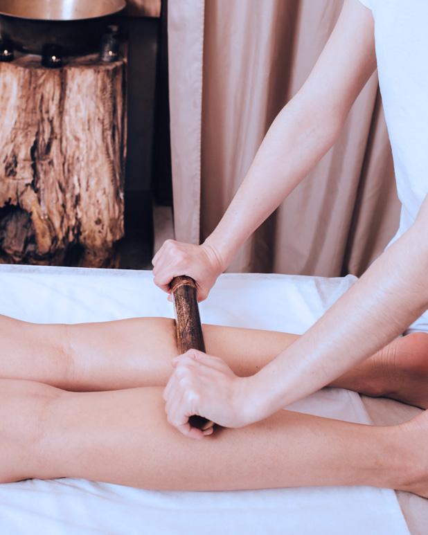 Massage aux bambous Réseau des massothérapeutes
