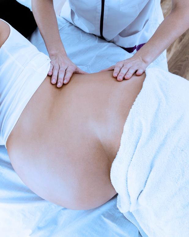 Massage de la femme enceinte Réseau des massothérapeutes